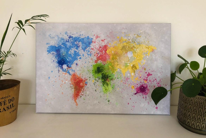 Splash wereldkaarten.nl - Waar is Aimy