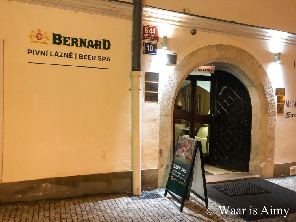 Beer Spa Bernard - Waar is Aimy