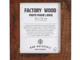Fotolijst – RMA –  Factory Wood Photo Frame large (20×25 cm)