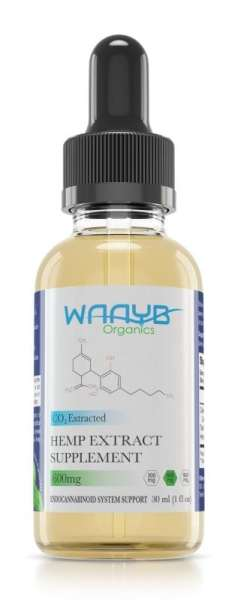 All Natural Mint Hemp Extract Oil from WAAYB Organics