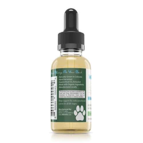 WAAYB Organics Pet 600mg_Left