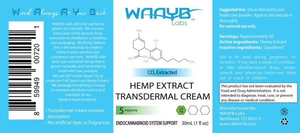 WAAYB Organics Transdermal Lotion