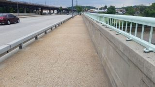 One shift later, its the cleanest that bridge has been in a while!