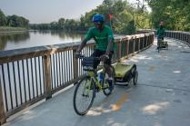 The new Kenilworth section of the Anacostia River Trail is a pretty great place to be