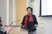 Mayor Muriel Boswer was the Lunch Keynote speaker at this year's summit.