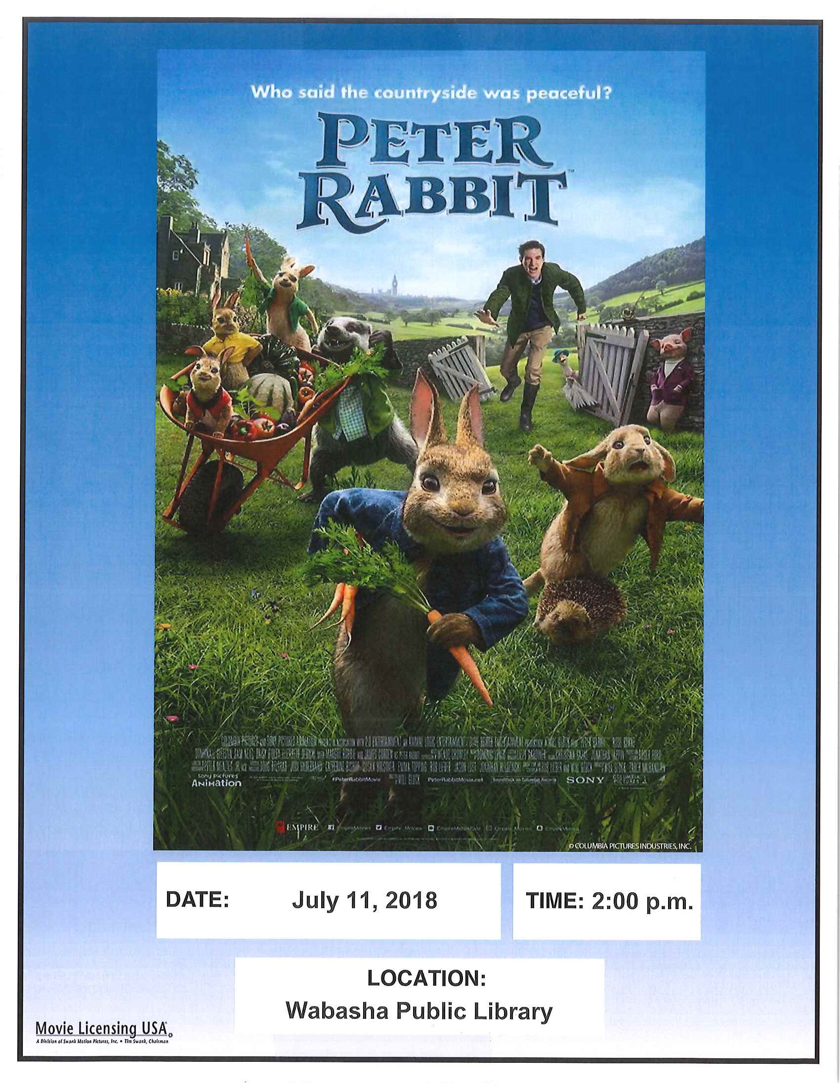 Book To Movie Event In The Children S Library Wabasha