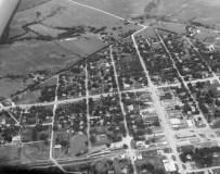 Aerial View, Eskridge Kansas - c. 1960