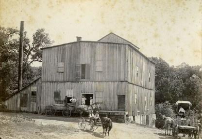 Flour Mill - Alma, KS - c.1885