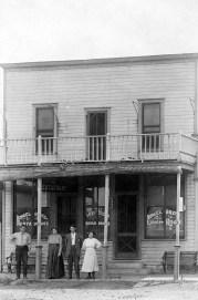 Ringel Brothers Restaurant and Lunch Room, McFarland Kansas Postcard