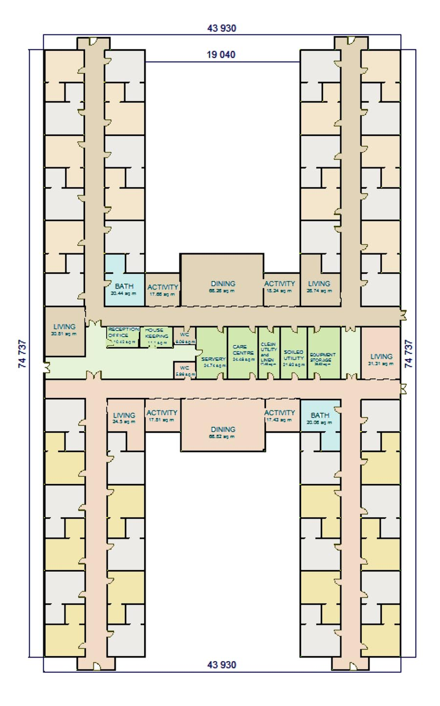 Superb Retirement Home Design Plans | Amazing House Plans