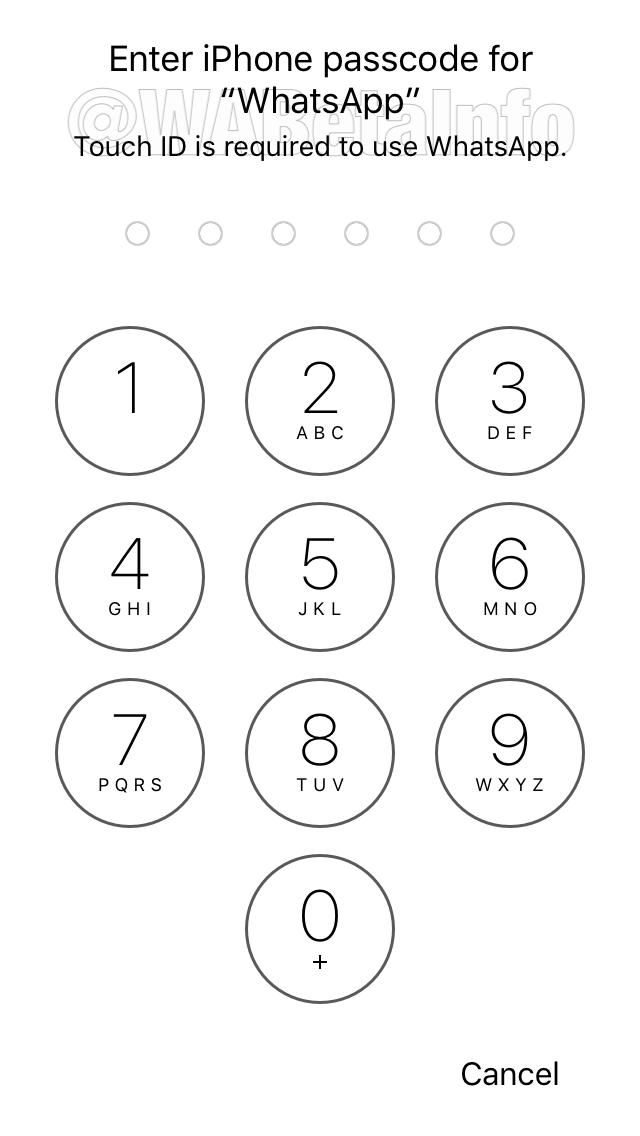 Passcode LA WAIOS - الثيم الليلي و ميزة قفل التطبيق قادمة إلى الواتساب في تحديث كبير له !