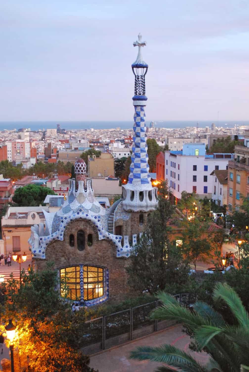 Park Guell - Barcelona, Spain