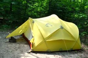My sweet tent.