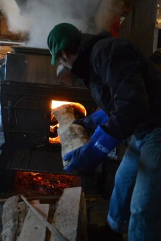 Firing the evapourator