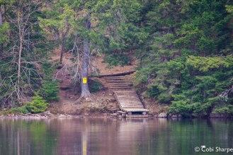 Cache Lake portage into Head Lake