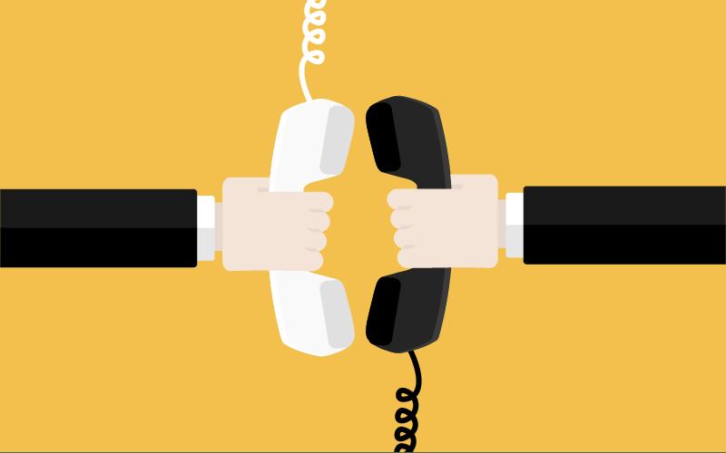 Telephone Art Banking Clip