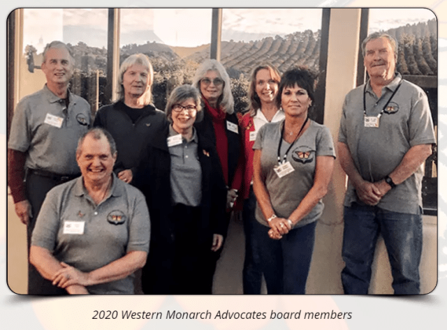 2020 Western Monarch Advocates Board Members