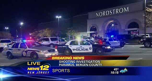 Police respond to shooting at Garden State Plaza