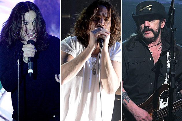 Black Sabbath, Soundgarden, and Motorhead