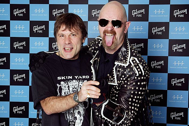 Bruce Dickinson Rob Halford