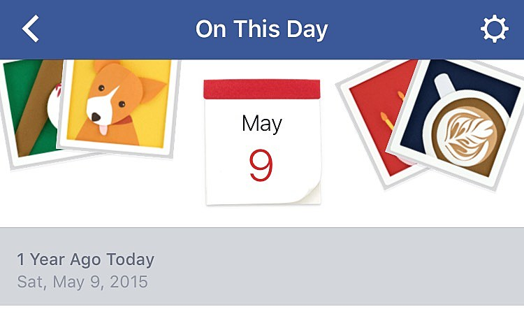 Image result for On This Day, a year ago, Facebook