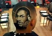 awesome michael jordan haircut