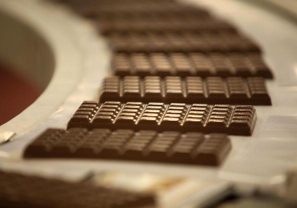 Production de Chocolat noir
