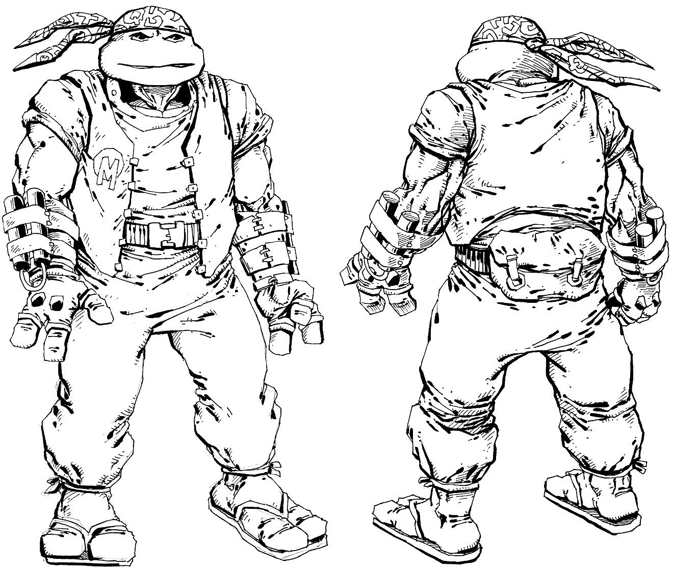 Even More Heroes In A Half-Shell From The TMNT Movie