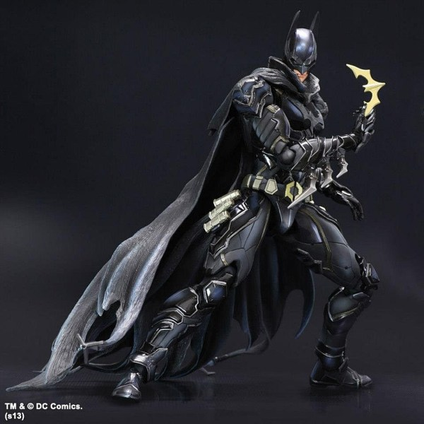 Official Play Arts Kai Woman Batman And Green