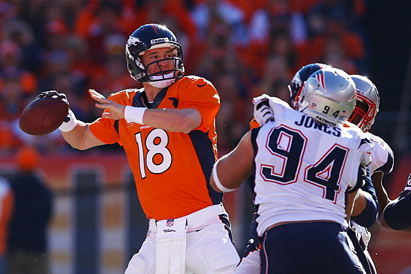 Manning Broncos Rip Patriots To Reach Super Bowl