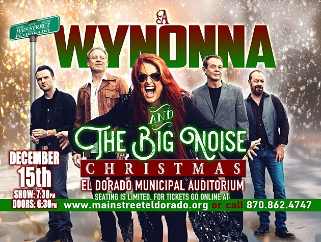 score tickets to a wynonna and the big noise christmas in el dorado