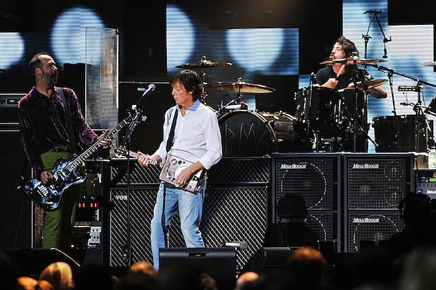 Krist Novoselic, Paul McCartney, Dave Grohl