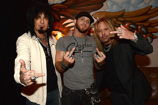 Nikki Sixx, Brantley Gilbert, and Vince Neil