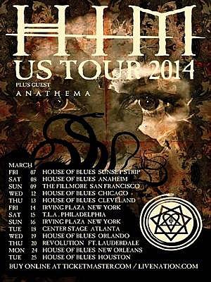 HIM Tour
