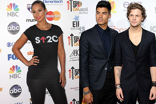 The Wanted, Alicia Keys