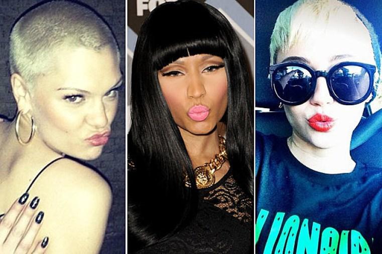 Jessie J Nicki Minaj Miley Cyrus