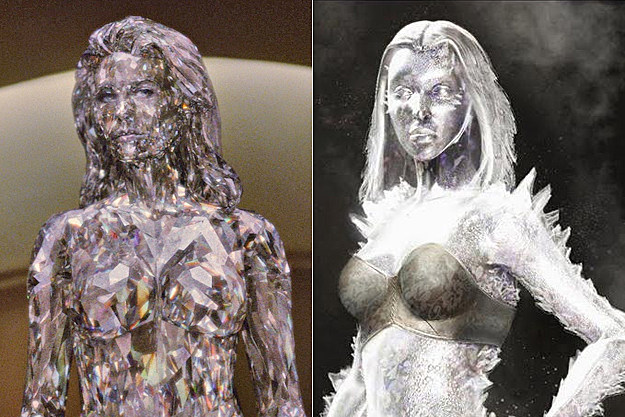 Emma Frost early concept art