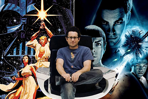 J.J. Abrams Star Wars Episode 7 Star Trek Crossovers