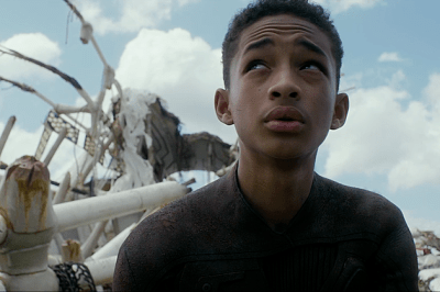 Still from 2013 sci-fi film After Earth