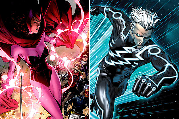 avengers 2 scarlet witch quicksilver - Why Ultron Was Picked As The Primary Antagonist In Avengers 2, and Who Are The Two New Characters.