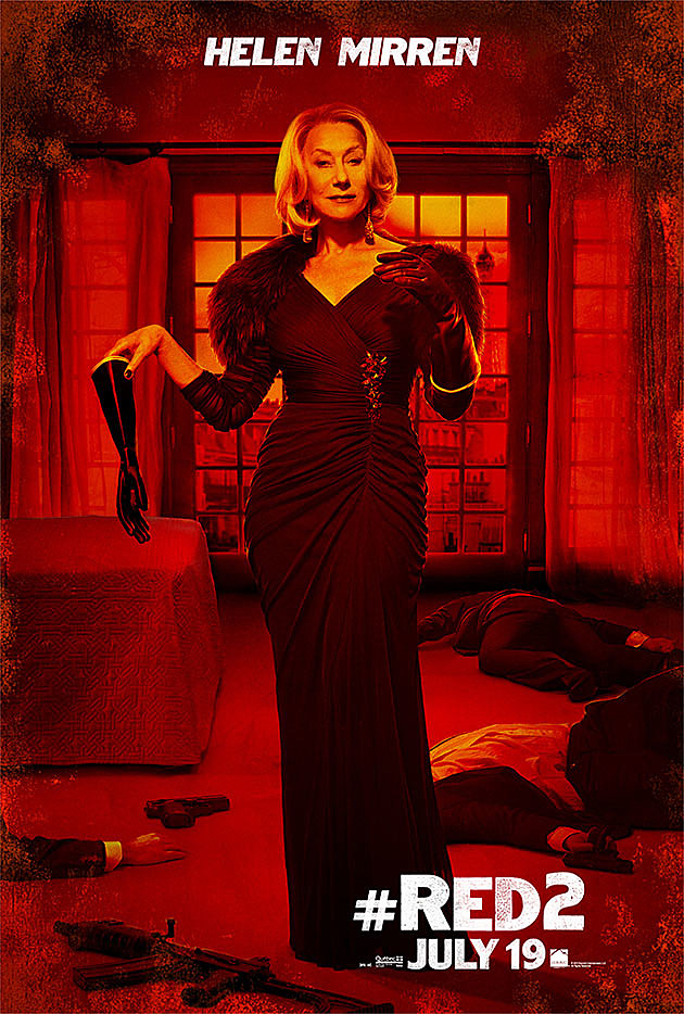 Red 2 Poster Helen Mirren