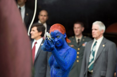 Jennifer Lawrence returns as Mystique in X-Men: Days of Future Past