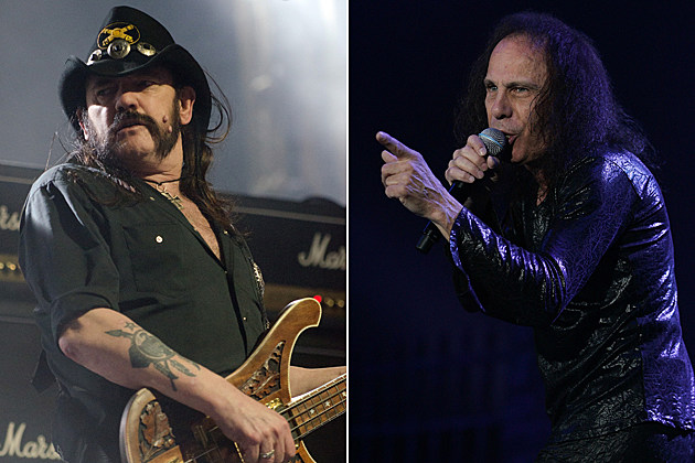 Lemmy Ronnie James Dio