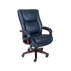 Office Chair Very Gray Sofa Yellow Chairs La Z Boy Winston Leather Executive Fixed Arms Brown About Black 47011