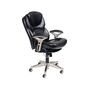 serta office chair 10 year warranty pier one cushions back in motion health wellness executive eco about leather black chr2000