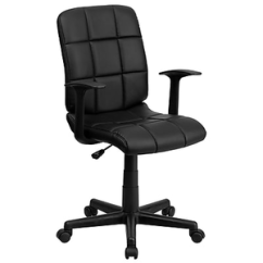 Office Chair Very Swing Graco Flash Furniture Plastic Computer And Desk Fixed Arms About Fixe Uncomfortable