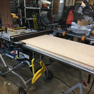 Bosch Table Saw Fence Extension