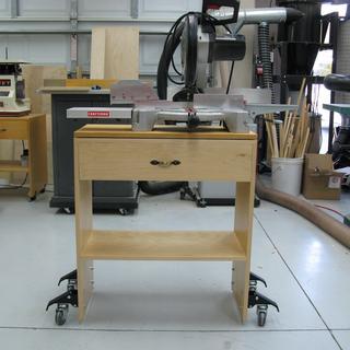Folding Workbench On Wheels