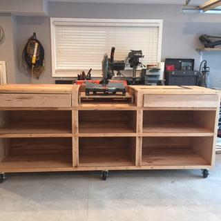 Chop Saw Stand Plans