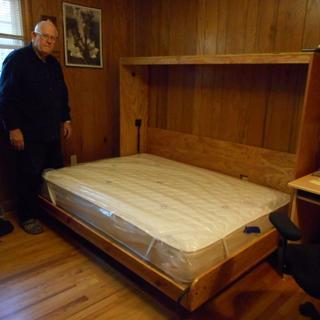 side mount deluxe murphy bed hardware